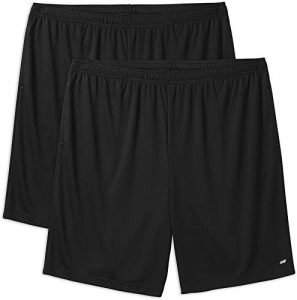 Amazon Essentials Men's Big & Tall 2-Pack Performance Shorts fit by DXL