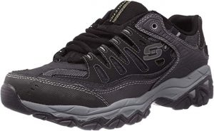 Skechers Afterburn Memory-Foam Lace-up Sneakers for Men Review