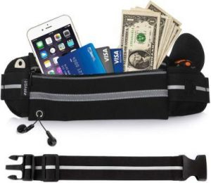 USHAKE Gear Running Belt with carry Pouch Review