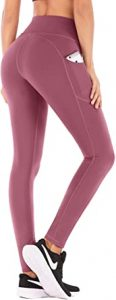UGA High Waist Yoga Pants with Pockets, Tummy Control