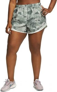 Nike Womens Plus Camouflage Running Shorts