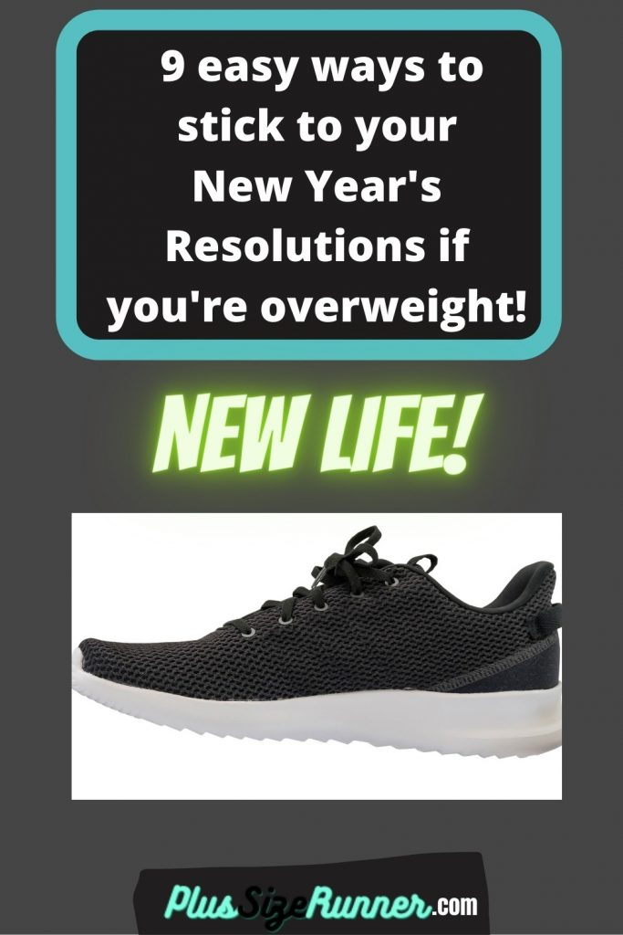 9 easy ways to stick to your new year's resolutions if you're overweight
